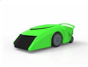 この自動芝刈り機は自動で芝を刈るだけじゃないんです