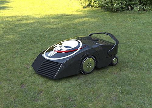 自動草刈り機ecomow2