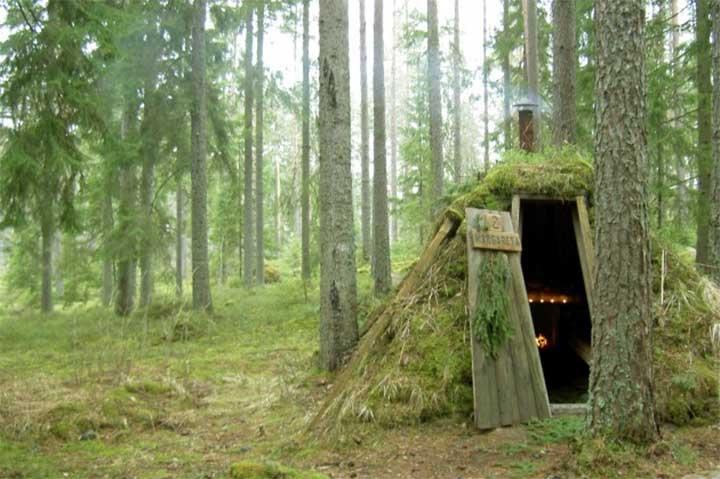 スウェーデンエコロッジ1