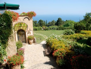 【世界の庭園】イタリア、カンパニア州ラヴェッロにあるVilla Cimbrone
