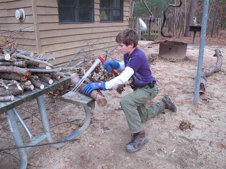 木挽台の作り方1