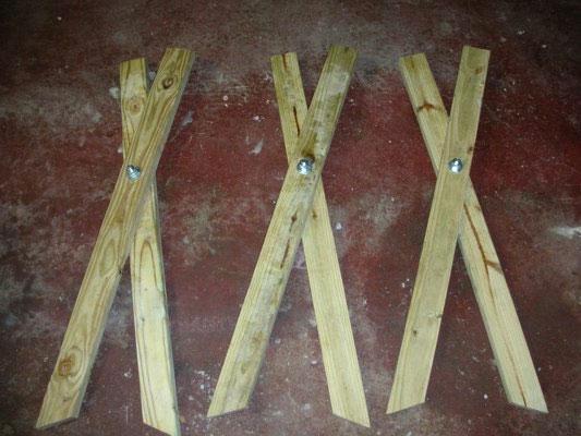 木挽台の作り方組み立て1