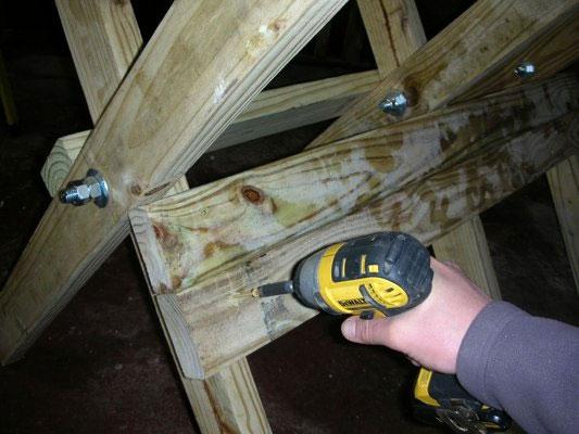木挽台の作り方組み立て2