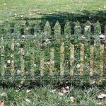 あなたにはこのフェンスが見えていますか?な目に見えない目隠しフェンス