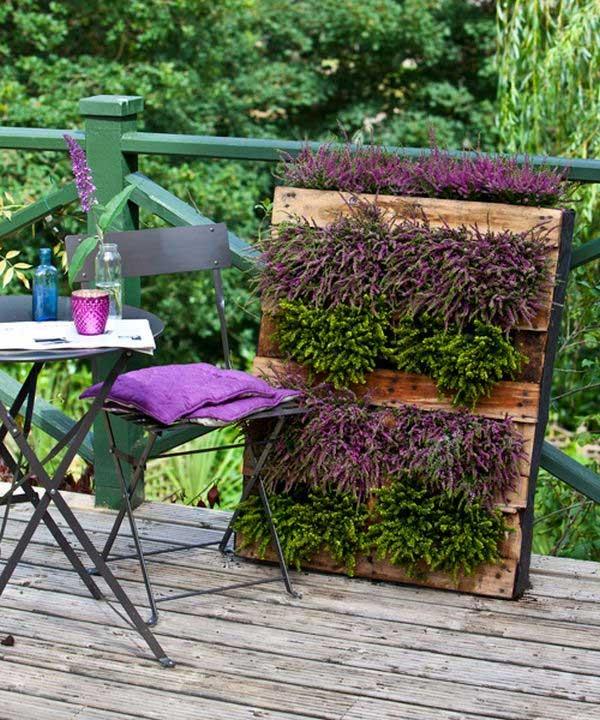 リビングウォールの垂直ガーデンパレット2