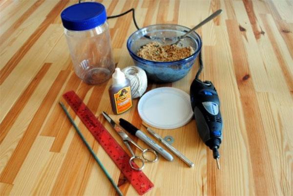 バードフィーダ―DIY準備