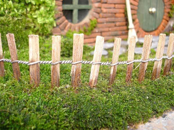 盆栽とエルフの融合柵