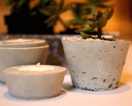 お店で売っているプランターに飽きたらコンクリート(モルタル)で自分だけのオリジナルミニ鉢をDIYしてみませんか